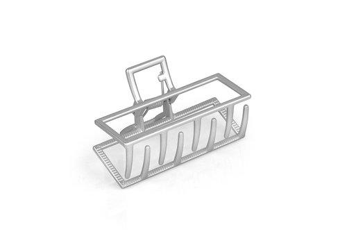 LimLim Metal Rectangular Jaw Clip