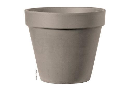 """Deroma Standard Clay Pot Graphite 3"""""""