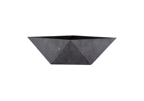 Deco Faceted Bowl