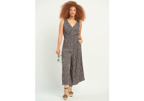 Dex Smocked Waist Jumpsuit