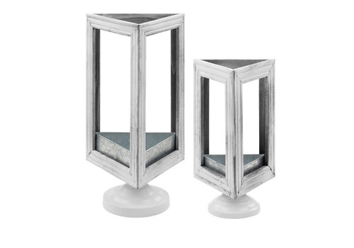 Triangle Pedestal Plant Stand