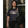 Brunette The Label Babes Club Rose Boxy Tee