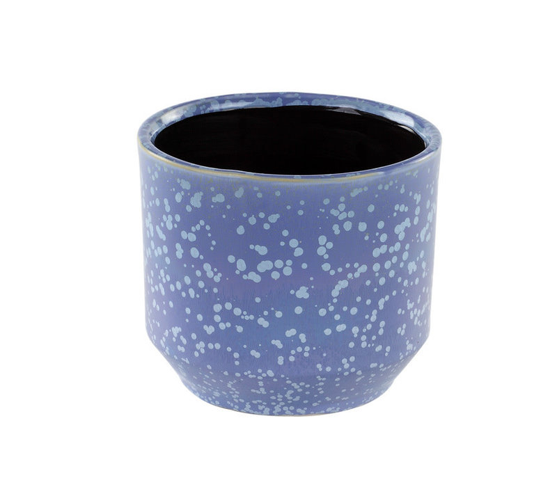 Blue Speckled Planter