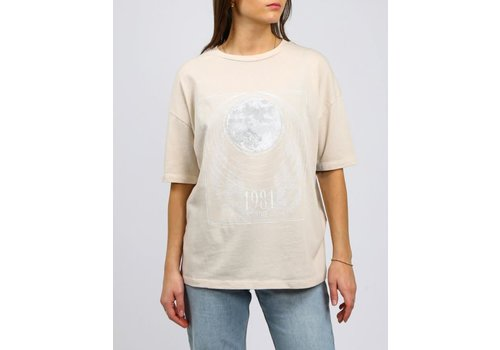Brunette The Label Mystic Oversized Boxy Tee