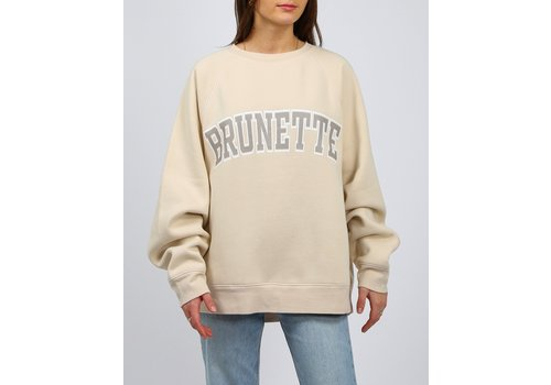 Brunette The Label Brunette Not Your BF's Crew