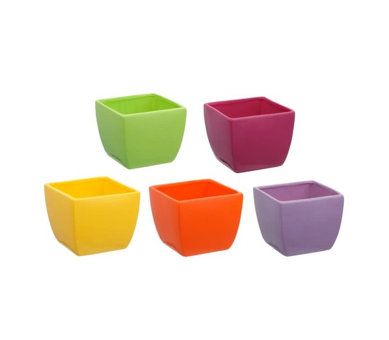 Bright Tapered Planter