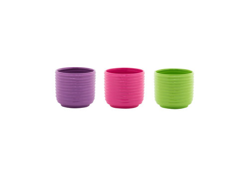 Ribbed Cylinder Planter