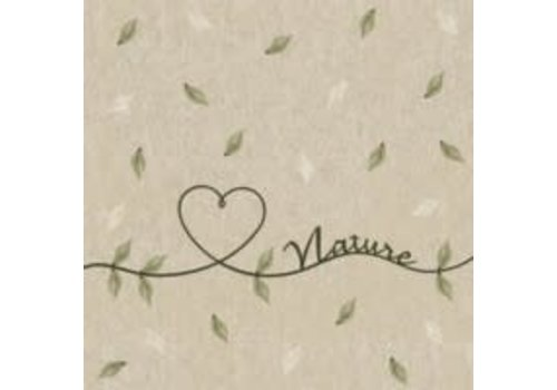 Love Of Nature Naturals Cocktail Napkin