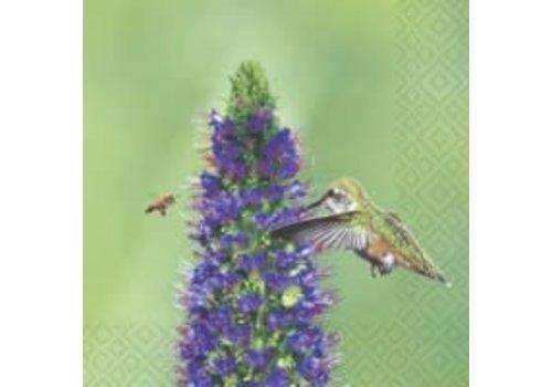 Bird and Bee Luncheon Napkin