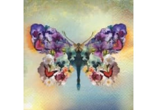 Le Papillon Fabuleux Luncheon Napkin
