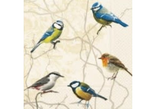 Birds Collection Luncheon Napkin