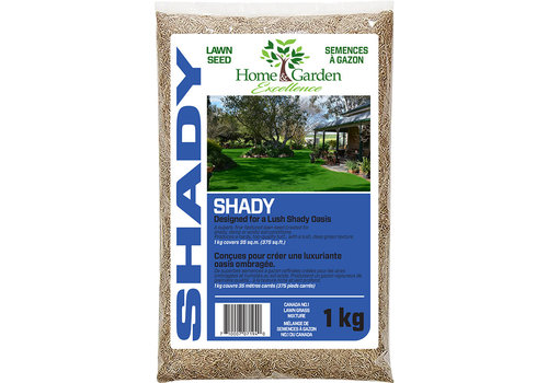 Home & Garden Excellence Lawn Seed Shady 1kg