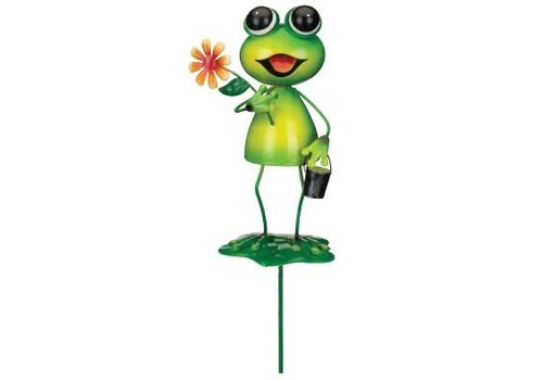 Garden Frog Stake