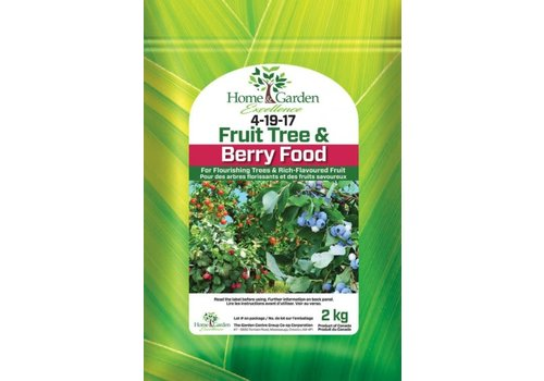 Home & Garden Excellence Fruit Tree & Berry Food 4-19-17 2kg