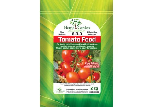 Home & Garden Excellence Vegetable and Tomato Food 8-9-9 2kg
