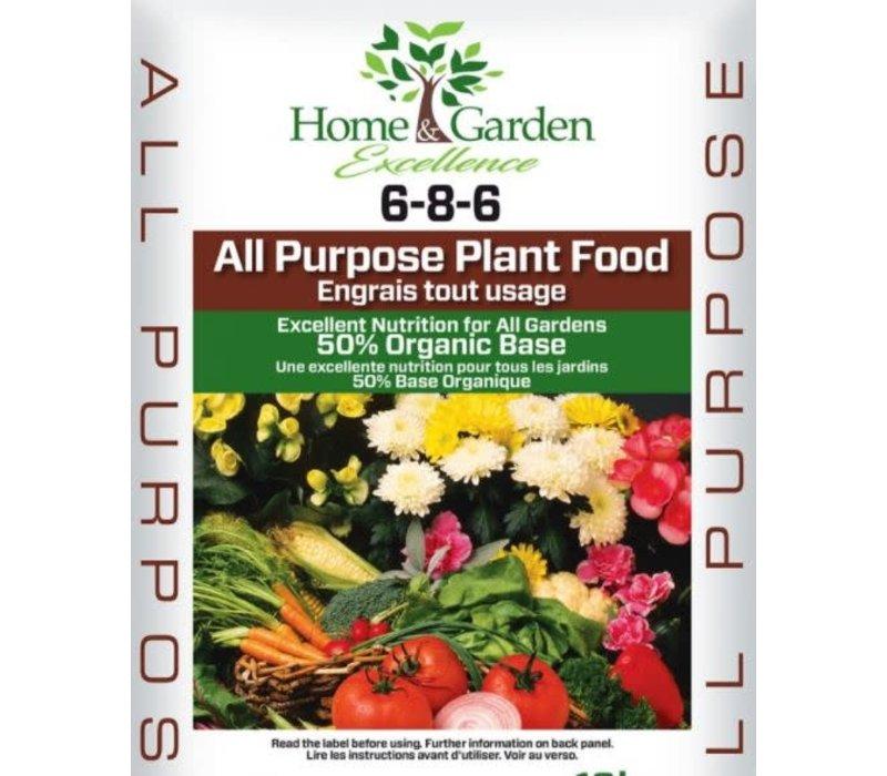 All Purpose Plant Food 6-8-6 2kg