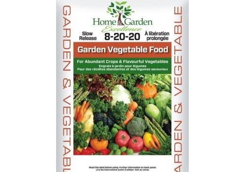 Home & Garden Excellence Garden Vegetable Food 8-20-20 2kg