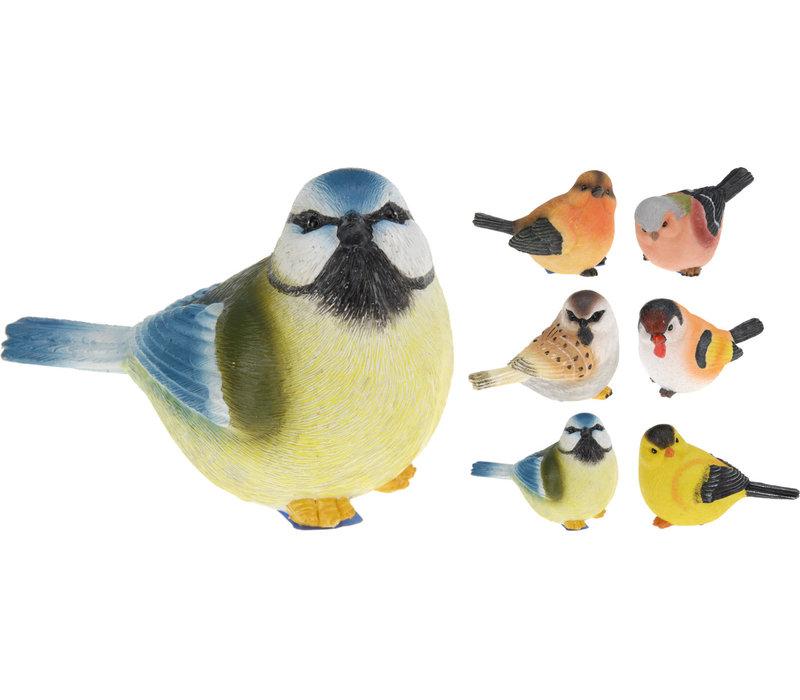 "Bird Polystone Assorted 5"""