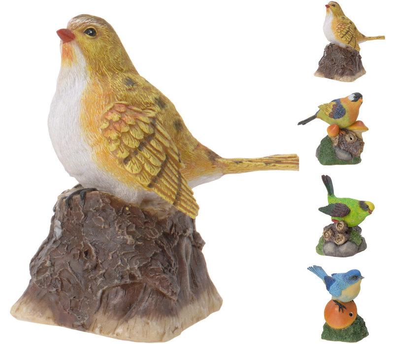 Bird Polystone With Sound