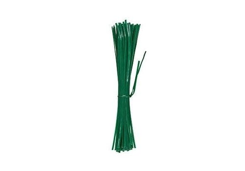 "Green Thumb Wire Tie 8"" 100pk"