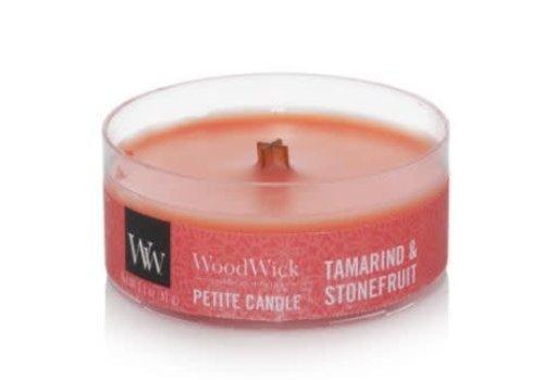 Woodwick Tamarind & Stonefruit Petite Candle