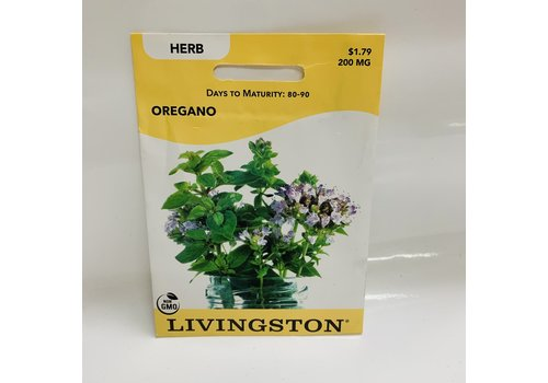 Livingston Herb Oregano