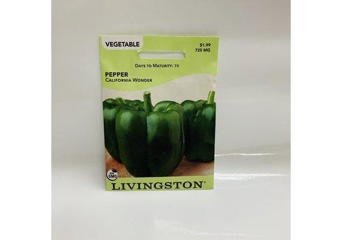 Livingston Pepper California Wonder LV