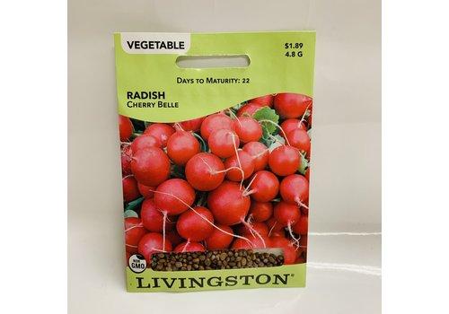 Livingston Radish Cherry Belle