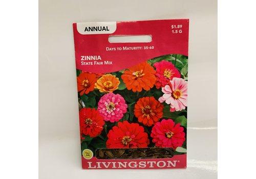 Livingston Zinnia Statefair Mix