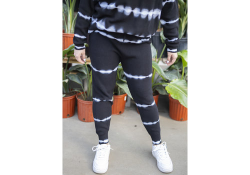 RD Style Bleached White Lines Sweatpants