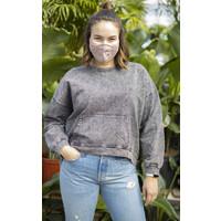 Acid Wash Pullover