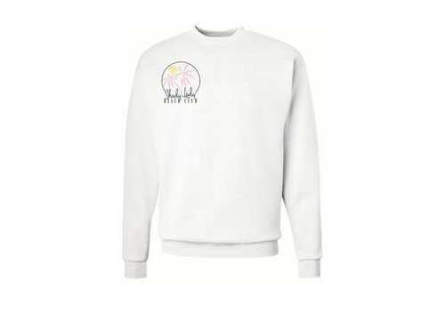 Shady Lady Beach Club Butter Fleece Crewneck