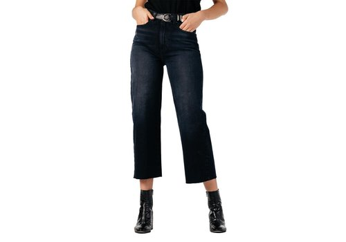 Modern American Savannah Crop Wide Leg Jeans
