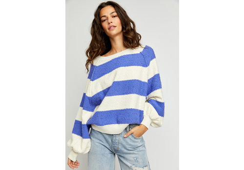 Free People Found My Friend Stripe Sweater