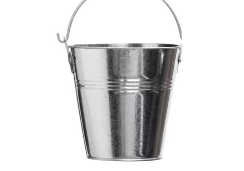 Galvanized Grease Pail