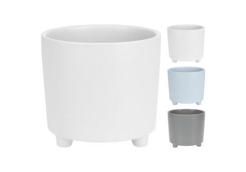 Koopman International Flower Pot Porcelain With Feet