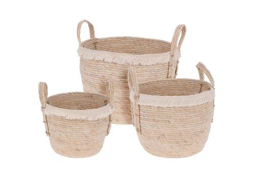 Fringe Basket Natural