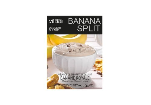 Gourmet Du Village Dip Recipe Box Banana Split Dessert