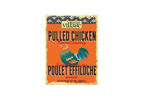 Gourmet Du Village Pulled Chicken Seasoning Box