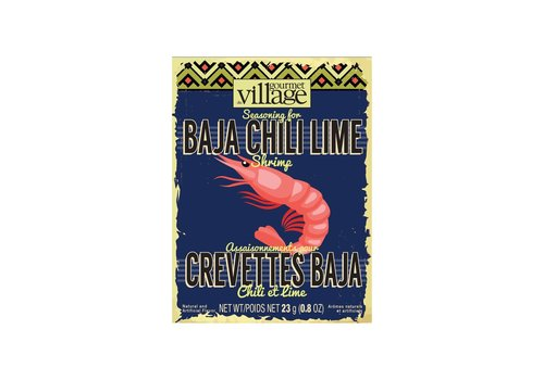 Gourmet Du Village Baja Chili Lime Seasoning Box