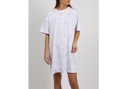 Brunette The Label Cloud Dye Boxy T-Shirt Dress
