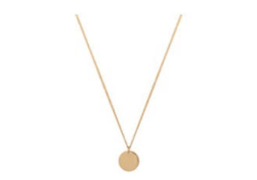 Club Manhattan Medallion Necklace