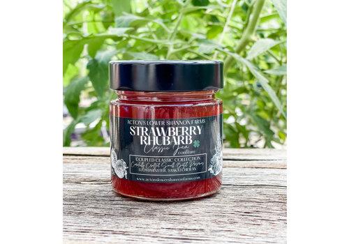 Acton's Lower Shannon Farms Strawberry Rhubarb Jam 212ml
