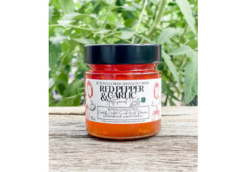 Acton's Lower Shannon Farms Red Pepper and Garlic Jam 212ml