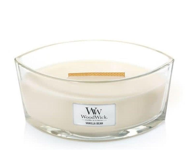 WoodWick Medium Hourglass Scented Candle Vanilla Bean