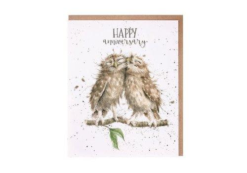 Wrendale Anniversary Owls
