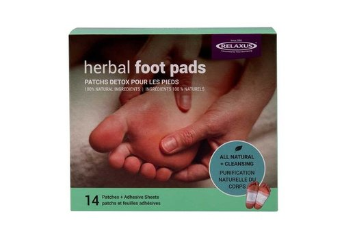 Relaxus Products Detox Foot Pads