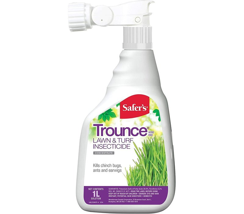 Trounce Lawn Insecticide Conc 1L