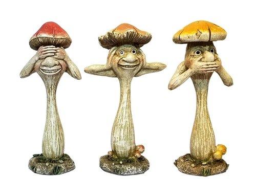 "Comical Mushroom 4.5"""