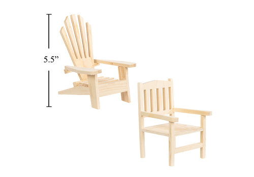 Time 4 Crafts Mini Wood Chair